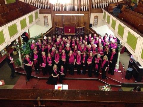 Serenade Shepshed Choir December 2012